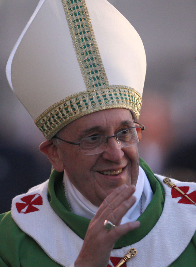 Pope Francis. Photo - AP