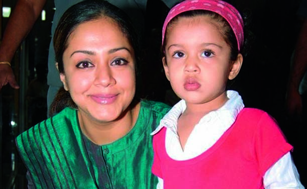 Actress Jyothika with daughter Diya (Photo: DC)