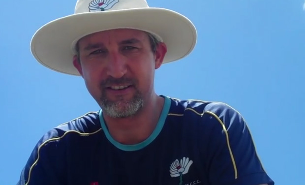 Former Australian pacer Jason Gillespie turned down a chance to coach South Australia state, opting to remain at English county cricket side Yorkshire. (Photo: Screengrab)