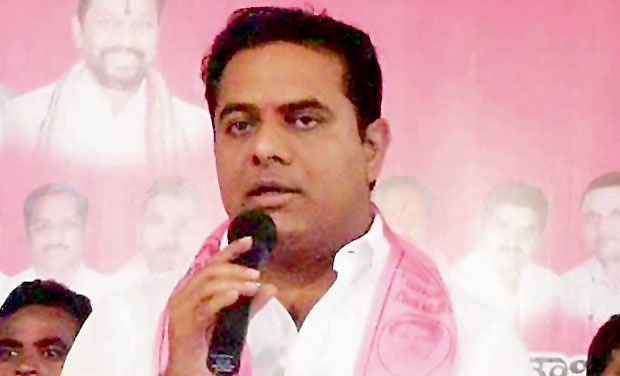 Telangana IT minister and panchayat raj minister K.T. Rama Rao. (Photo: DC/File)