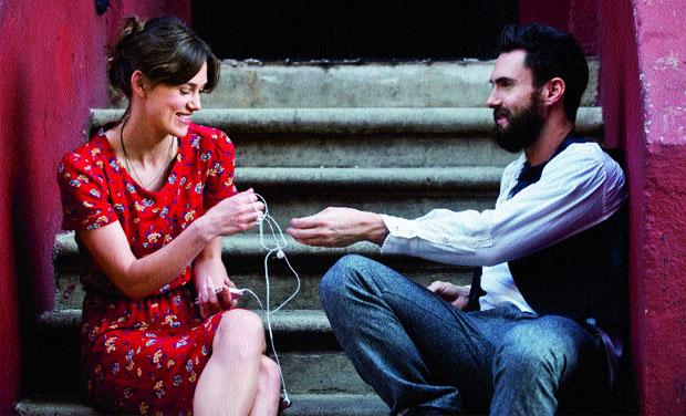 Keira Knightley and Adam Levine in a still from Begin Again. Representational picture.