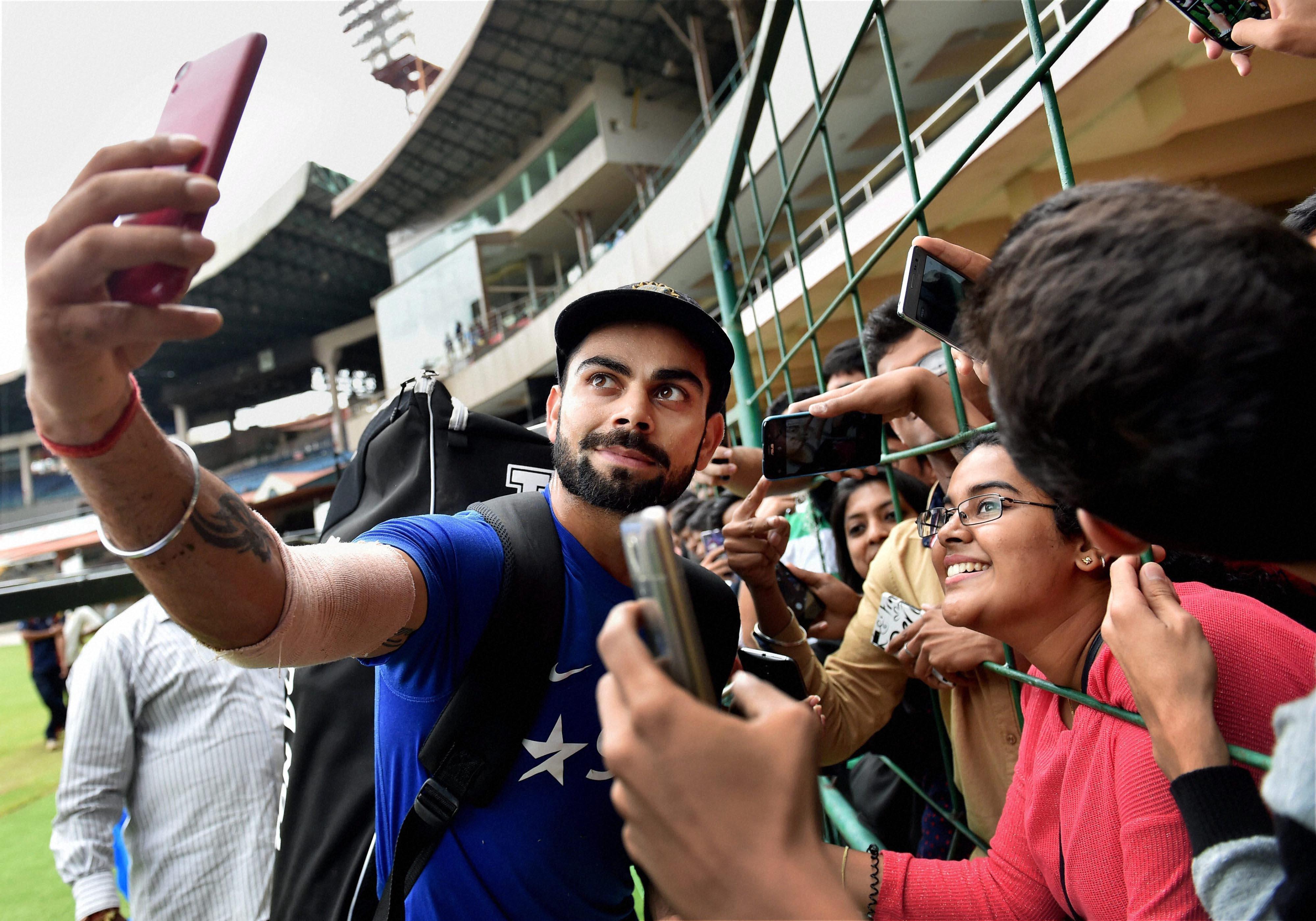 Watch Virat Kohli S Selfie With A Little Girl Will Melt Hearts