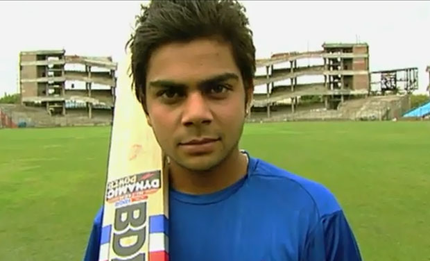 The 18-year-old Virat Kohli talks about his passion for cricket, his favourite cricket moments at his home ground Feroz Shah Kotla, Delhi (Photo: Screenshot)