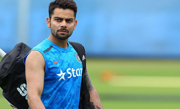 Indian vice-captain Virat Kohli suddenly lost his cool after the training session ahead of India's World Cup game against West Indies as he hurled abuses at a senior journalist. (Photo: BCCI)