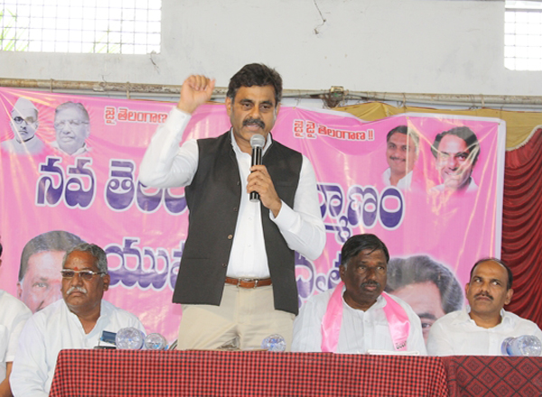 TRS candidate from Chevella Lok Sabha seat, Konda Vishweshwar Reddy (Photo: PTI/File)