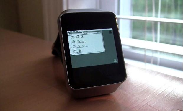 He hacked an Android smartwatch, ran Macintosh, Windows