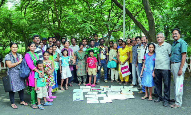 Chennai Weekend Artists at the Egmore Muesum