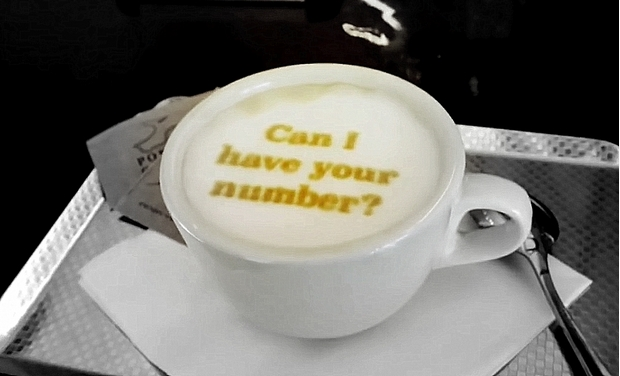 now you too can print photos on your cappuccino