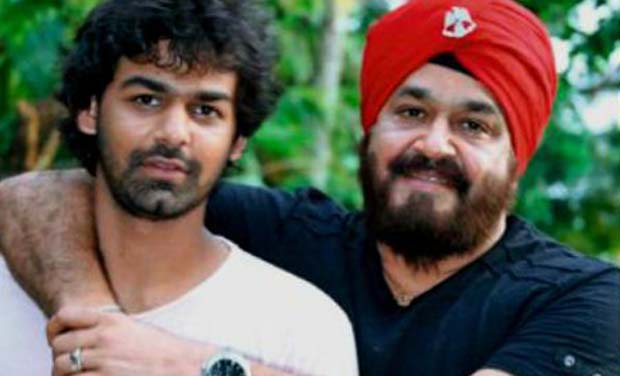 Mohanlal with his son Pranav. (Photo: DC/File)