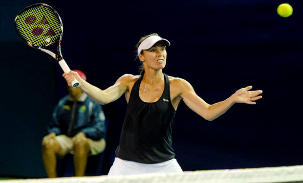 Martina Hingis returns to singles play again, at the Vijay Amritraj-backed Champions Tennis League when she turns out for the Hyderabad Aces
