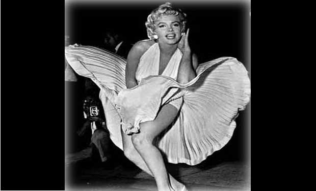 Marilyn Monroe. Photo- AP