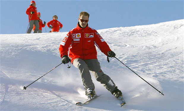Michael Schumacher's manager says the Formula One great is no longer in a coma and has left a French hospital where he had been receiving treatment since a skiing accident in December. Photo: AFP/ File