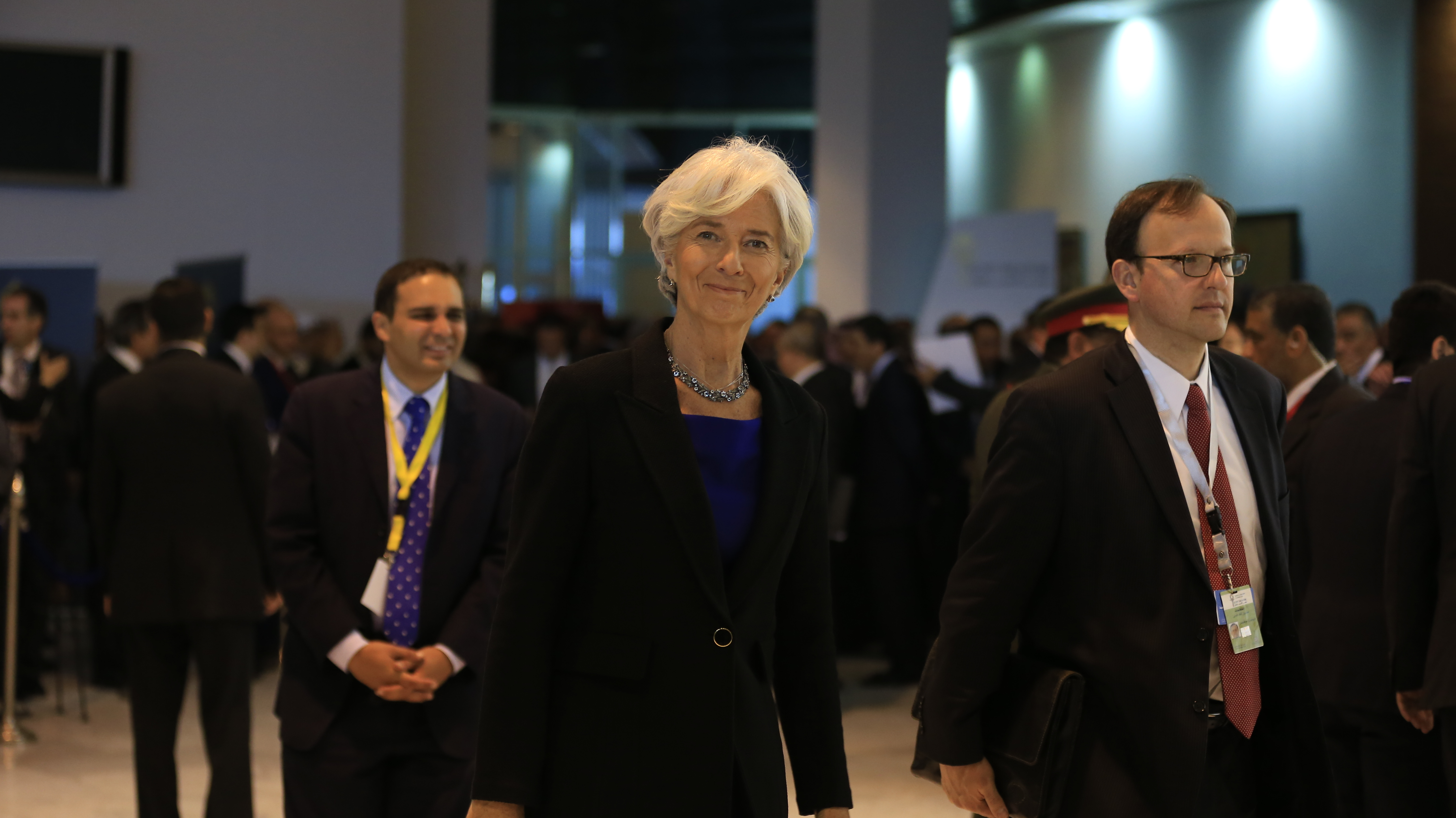 IMF chief hails India as bright spot in gloomy world economy