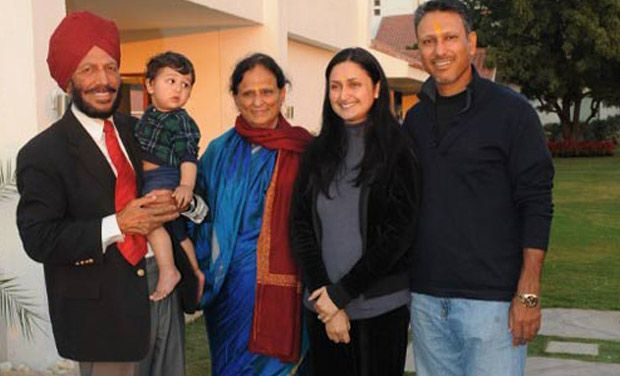 Image result for milkha singh wife
