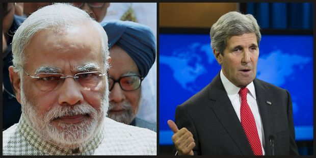 Prime Minister Narendra Modi and US Secretary of State John Kerry (Photo:AP/File)