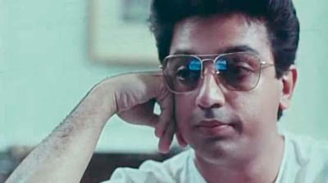 Singeetam Srinivasa Rao's classic Pushpaka Vimana starred the multifaceted actor Kamal Haasan and Amala in the lead roles.