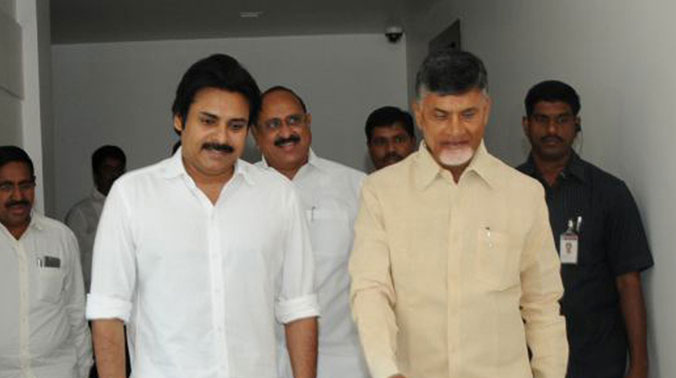 Image result for pavan kalyan with tdp mla