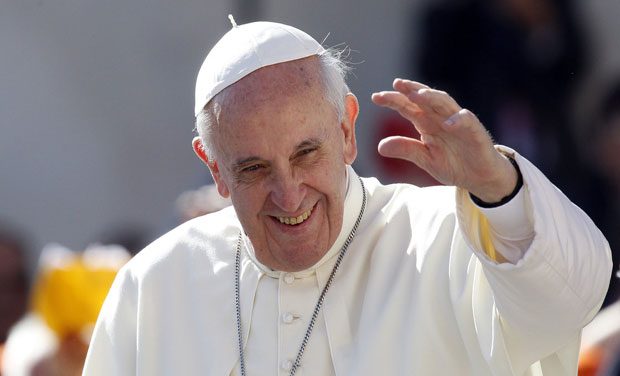 Vatican's first-ever cricket team, dominated by Indians, has been blessed by Pope Francis. Photo: AP/ File