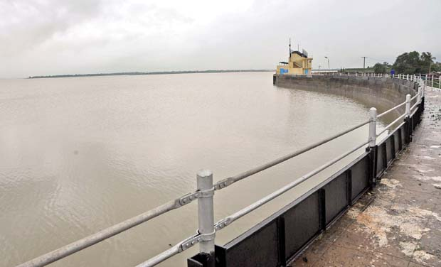 Puzhal lake after rains. (Photo: DC)