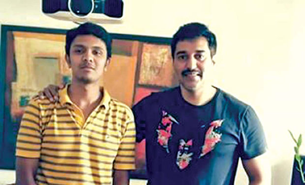 Actor Rahman with Vijay Naren
