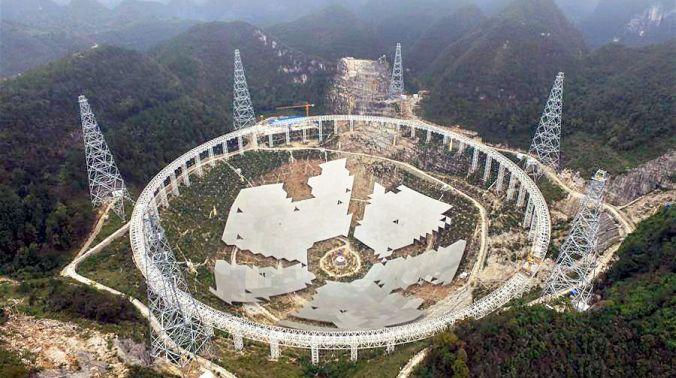 Five-hundred-metre Aperture Spherical Telescope