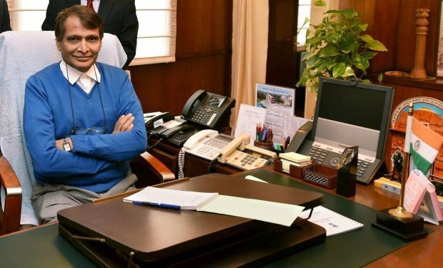 Railway Minister Suresh Prabhu. (Photo: PTI)