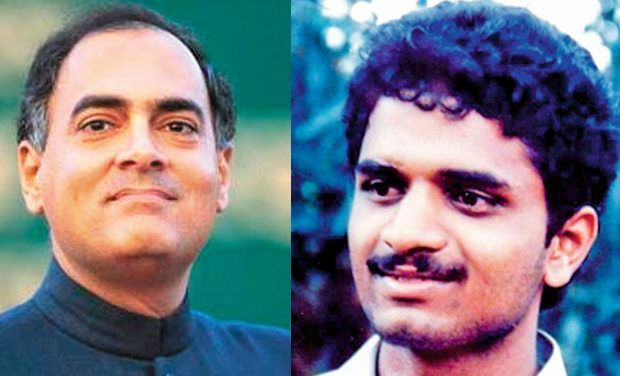 Rajiv Gandhi and Perarivalan - File photos