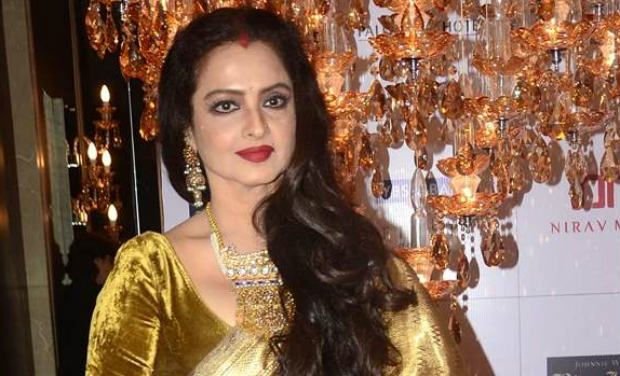 Actress Rekha.