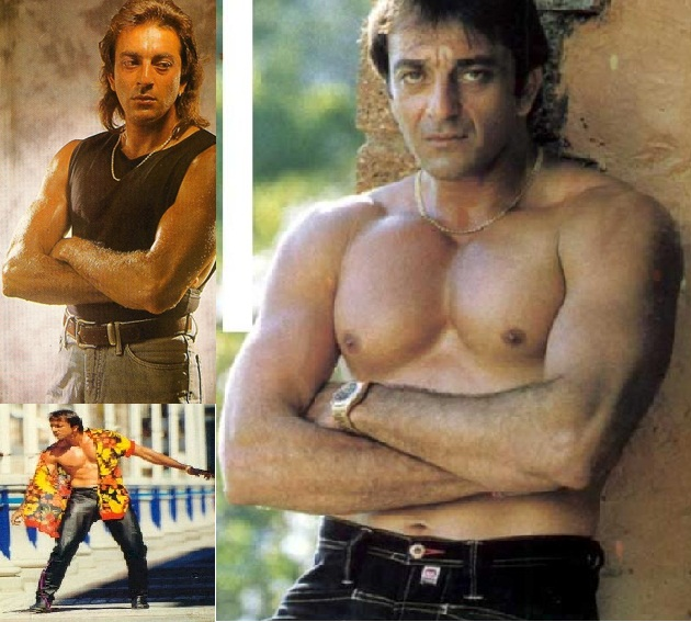 Sanjay dutt walks around prison shirtless showing off his eight packs sanjay dutt is considered to be a trendsetter of body building in bollywood altavistaventures Image collections
