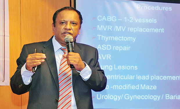 Dr Ravi Kumar, director, Robotic Heart Surgery programme, speaks about the advantages of robotic assisted minimally invasive procedures. (Photo: DC/File)