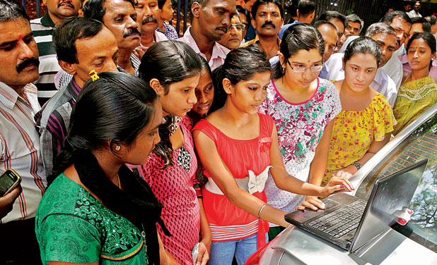 Karnataka SSLC results declared, state betters its own score