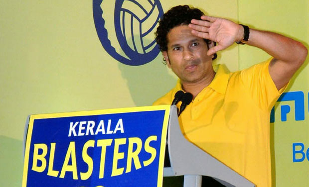 Cricket icon Sachin Tendulkar - who owns the ISL team Kerala Blasters FC - now plans to own a luxury waterfront villa in Kochi. (Photo: PTI)