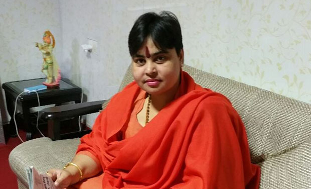 Vice president of All India Hindu Mahasabha, Sadhvi Deva Thakur (Photo: Facebook)