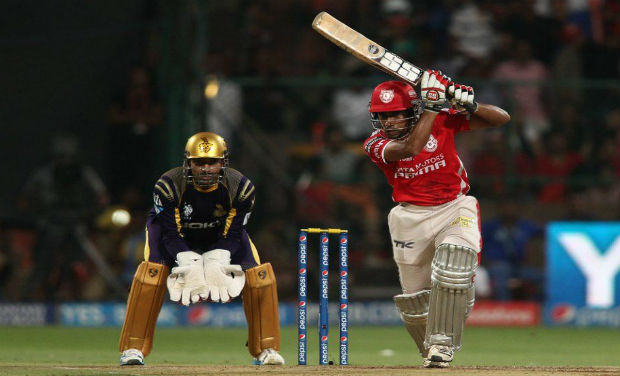 Wridhiman Saha scored a brilliant hundred in the final of IPL 7 against. But his century went in vain as Mansih Pandey powered KKR to a victory. Photo: BCCI
