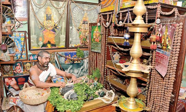 Home turns temple for Saligram worship