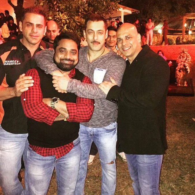 Inside pictures from Salman Khans 50th birthday bash