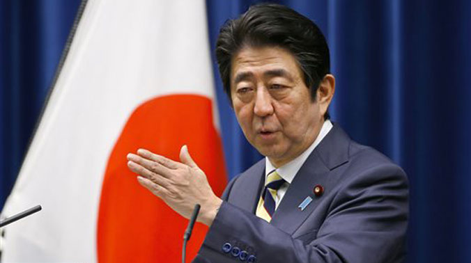 Japanese Prime Minister Shinzo Abe. (Photo: AP)