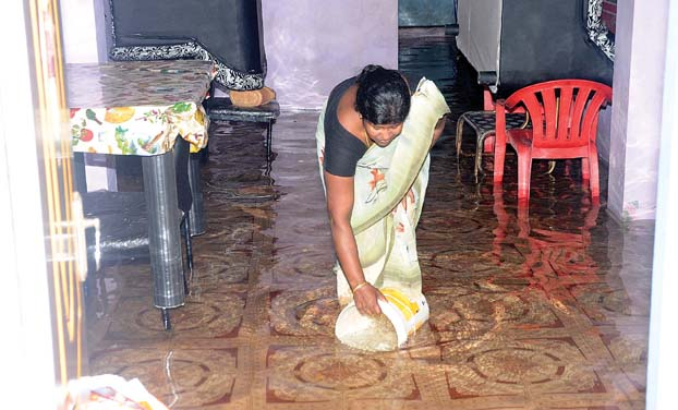 Sidco Nagar residents suffered nine days of water stagnation. (Photo: DC)