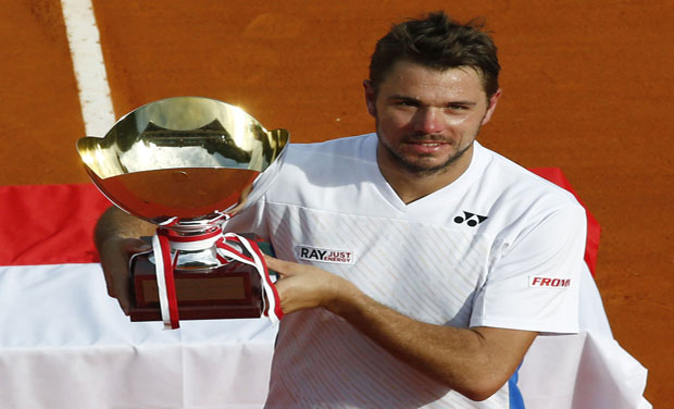 The Monte Carlo title was Wawrinka's third of the year after trophies at Chennai and Grand Slam breakthrough at the Australian Open in January. Photo: AFP
