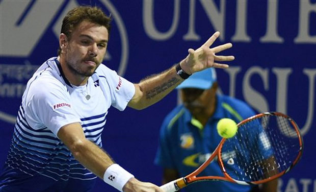 Stanislaus Wawrinka annihilated teenager Borna Coric  6-1, 6-4 in the second round match for ATP Chennai Open 2015