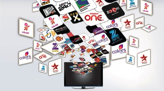 Huge rise in number of television channels