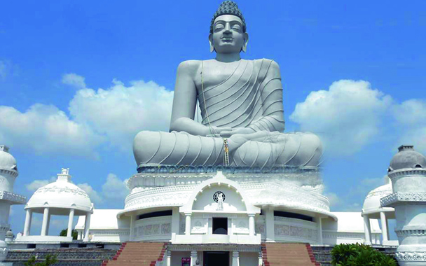 The statue of Dhyana Buddha.(Photo:DC)
