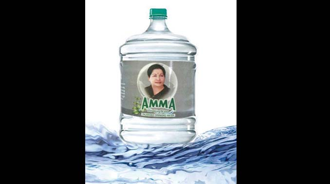Tamil Nadu: Amma 20-litre cans to be launched soon