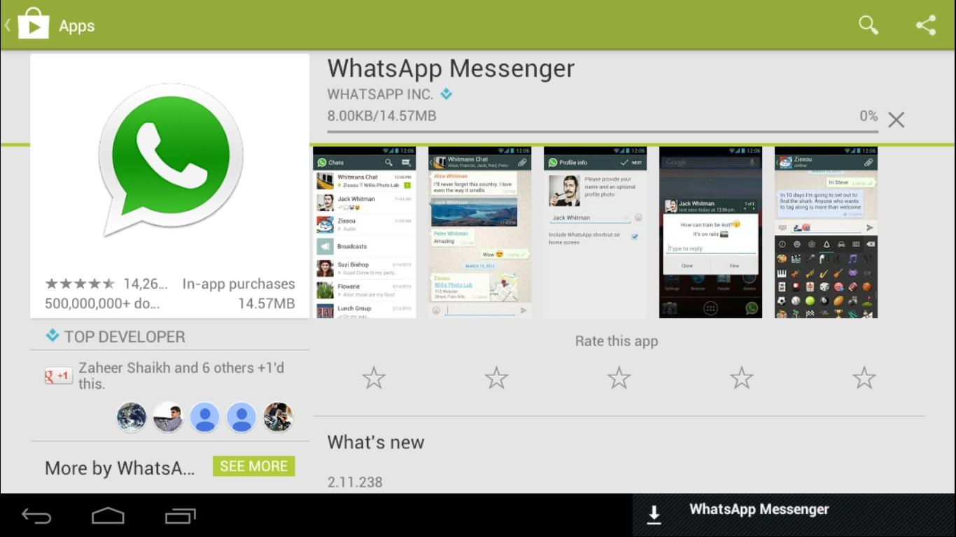 download whatsapp no play store