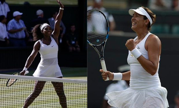 Serena Williams has revenge on her mind as the world number one aims to end the fairytale run of Garbine Muguruza in the Wimbledon final.(Photo: AP)