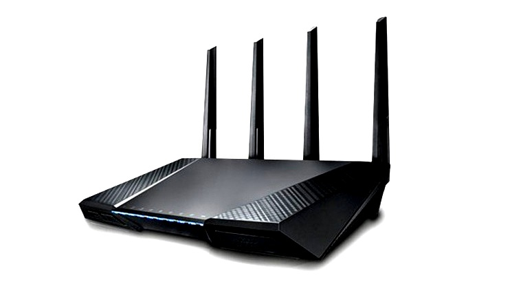 Routers cannot penetrate concrete walls