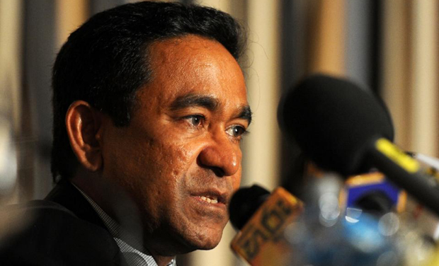 Maldives President Abdulla Yameen (Photo: AFP)