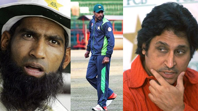 Video: Mohammad Yousuf, Ramiz Raja involve in ugly fight