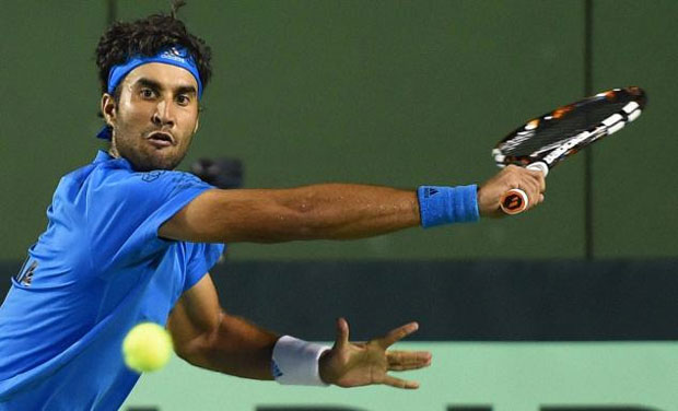 By winning bronze, Yuki Bhambri clinched India's lone singles' medal in tennis at the 17th Asian Games. Photo: PTI/ File