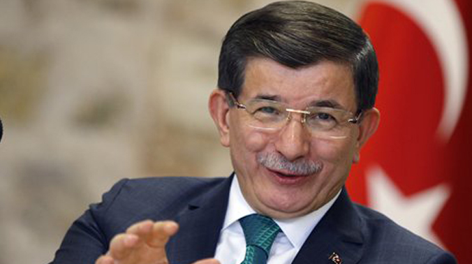 Ahmet Davutoglu said he would begin talks with the opposition next week on a new constitution and a possible move away from the current parliamentary system. (Photo: AP)
